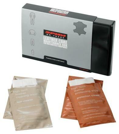 Obrázek produktu SPIDI sada pro údržbu koženého oblečení, ubrousky V77-000
