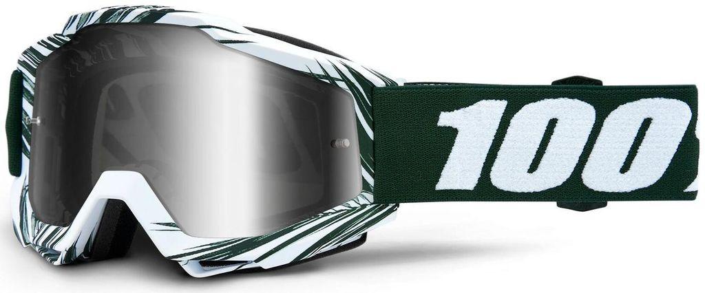 Obrázek produktu brýle ACCURI BALI, 100% - USA (stříbrné zrcadlové plexi) 50210-320-02