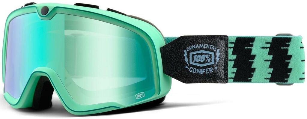 Obrázek produktu brýle Barstow Classic Ornamental Conifer, 100% (zelená, zelené chrom plexi) 50002-184-02