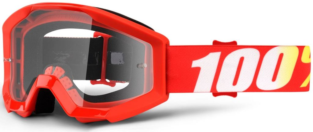Obrázek produktu brýle Strata Furnace, 100% dětské (čiré plexi s čepy pro slídy) 50500-232-02