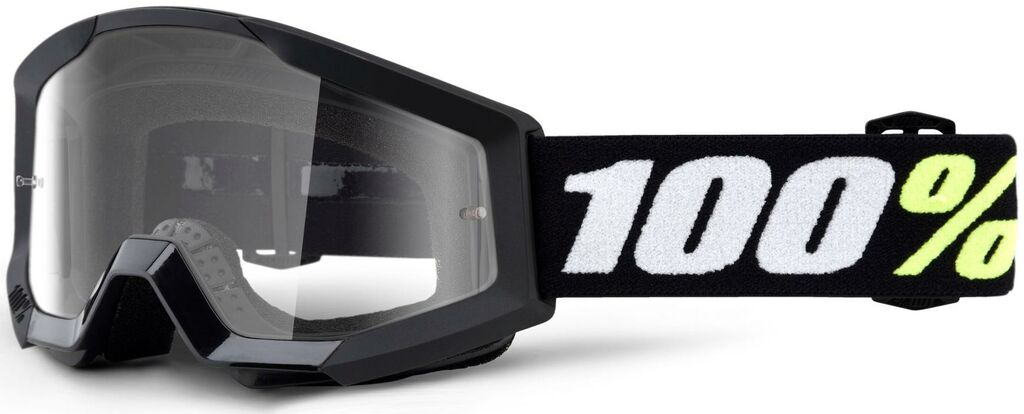 Obrázek produktu brýle Strata Mini Gron Black, 100% dětské (čiré plexi) 50600-001-02