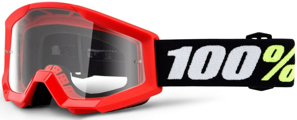 Obrázek produktu brýle Strata Mini Gron Red, 100% dětské (čiré plexi) 50600-003-02