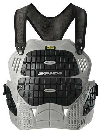 Obrázek produktu chránič hrudi THORAX, SPIDI (černý/šedý, vel. UNI) Z157-083
