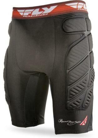 Obrázek produktu ochrané kompresní šortky, FLY RACING (černá/červená) 360-9855