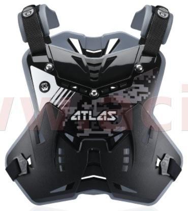 Obrázek produktu chránič hrudi a zad Defender Digital Stealth, ATLAS dětský (černá, vel. UNI) CPJ-01-010