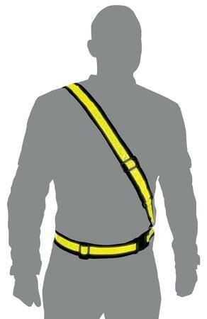 Obrázek produktu reflexní pás ramenní, OXFORD (žlutá fluo) RE458