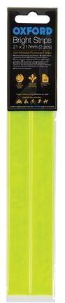 Obrázek produktu reflexní pásky Bright Strips, OXFORD (žlutá fluo, 21 x 217 mm, pár) RE461
