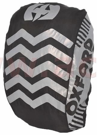 Obrázek produktu reflexní obal/pláštěnka batohu Bright Cover, OXFORD (černá/reflexní prvky, Š x V = 640 x 720 mm) RE463B