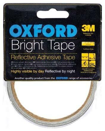 Obrázek produktu reflexní samolepící páska Bright Tape, OXFORD (šedá reflexní, délka 4,5 m, šířka 10 mm) RE111