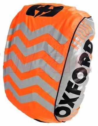 Obrázek produktu reflexní obal/pláštěnka batohu Bright Cover, OXFORD (oranžová/reflexní prvky, Š x V = 640 x 720 mm) RE463O