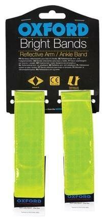 Obrázek produktu reflexní pásky Bright Bands na suchý zip, OXFORD (žlutá fluo, pár) RE457