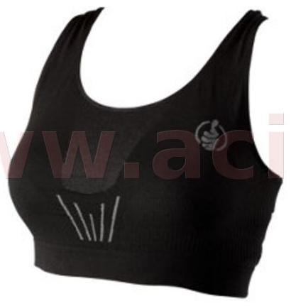 Obrázek produktu podprsenka sportovní Carbon bezešvá, MOTO ONE dámské (černá)