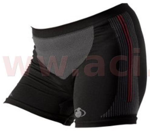 Obrázek produktu bezešvé termoprádlo Carbon, MOTO ONE dámské (černá)
