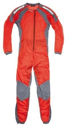 Obrázek produktu Jednodílné spodní prádlo pod kombinézu RIDERS UNDERWEAR, SPIDI (oranžová/šedá) L48-013
