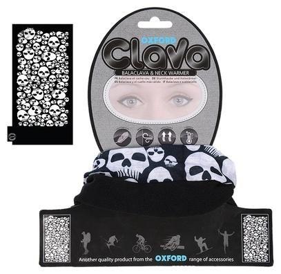 Obrázek produktu kukla a nákrčník Clava Skulls, OXFORD NW803