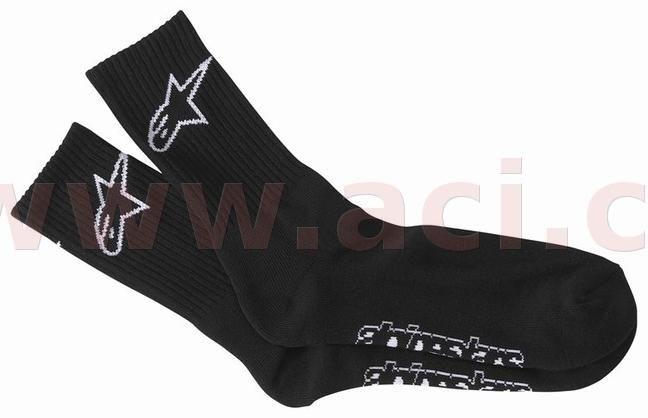 Obrázek produktu ponožky CREW, ALPINESTARS (černé)