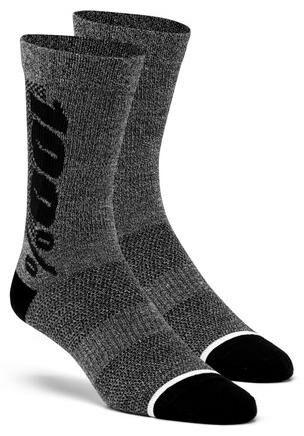 Obrázek produktu ponožky zateplené RYTHYM Merino vlna, 100% (šedé) 24006-052