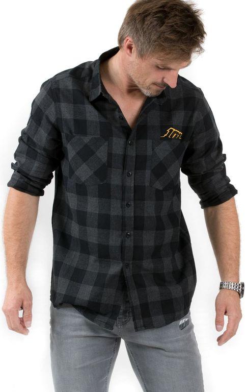 Obrázek produktu košile CHECK, 101 RIDERS (černá/šedá) 18111