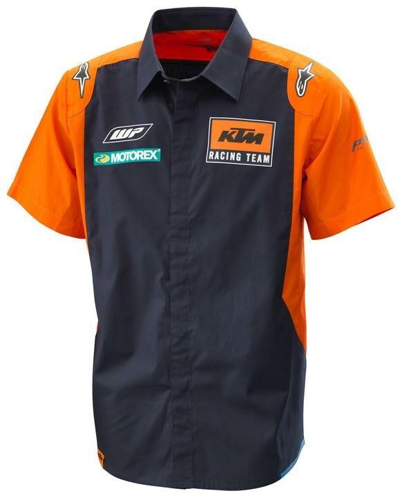 Obrázek produktu košile REPLICA TEAM KTM, (modrá/oranžová) 3PW185300