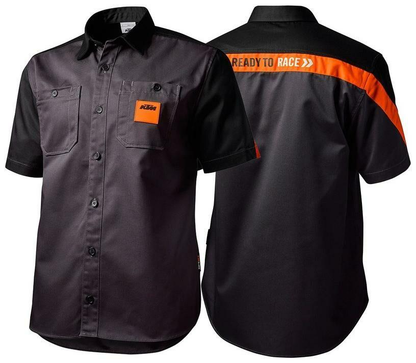 Obrázek produktu košile MECHANIC OEM KTM, (černá/oranžová) 3PW195680