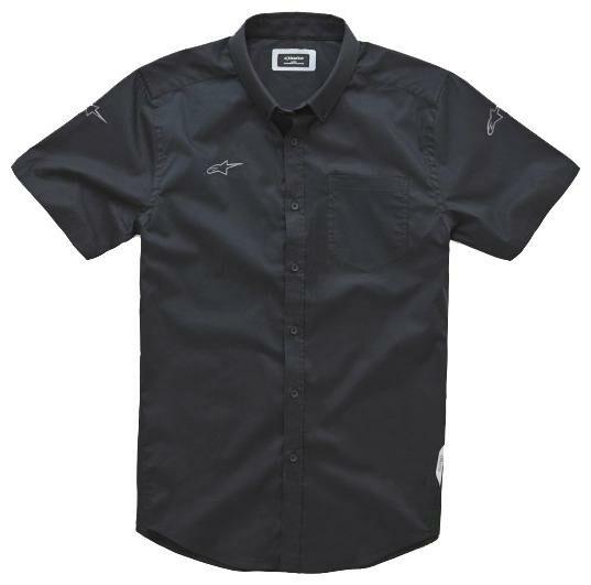 Obrázek produktu košile AERO krátký rukáv, ALPINESTARS (černá) 1002-32524-10