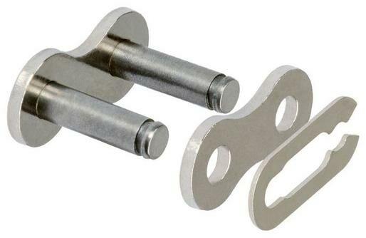 Obrázek produktu spojka řetězu 420HDR, JT CHAINS (barva stříbrná, rozpojovací, typ SPRING)