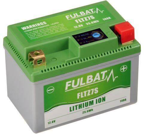 Obrázek produktu lithiová baterie  LiFePO4  YTZ7S FULBAT  12V, 2Ah, 140A, hmotnost 0,42 kg, 113x70x85