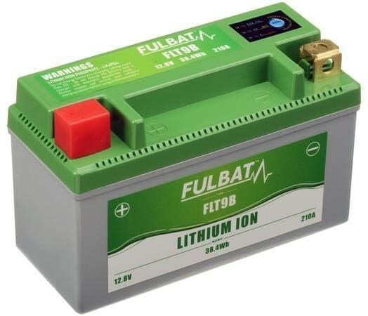 Obrázek produktu lithiová baterie  LiFePO4  YT7B-4/YT7B-BS FULBAT  12V, 3Ah, 210A, hmotnost 0,56 kg, 150x66x93