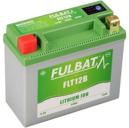 Obrázek produktu lithiová baterie  LiFePO4 YT12B-4 FULBAT  12V, 5Ah, 350A, hmotnost 0,82 kg, 150x66x130