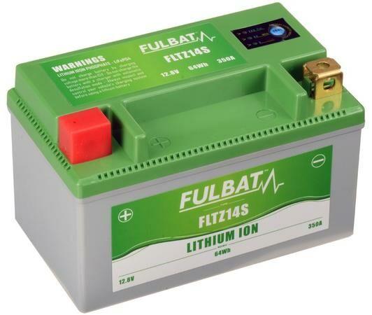 Obrázek produktu lithiová baterie  LiFePO4  YTZ14S  FULBAT  12V, 5Ah, 350A, hmotnost 0,85 kg, 150x87x93