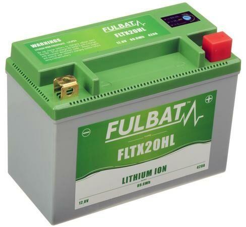 Obrázek produktu lithiová baterie  LiFePO4  FULBAT  12V, 7Ah, 420A, 1,12 kg, 175x87x130 mm nahrazuje typy: (CBTX20-BS,CB16-B,CB18-A,C50-N18A-A)