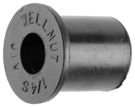 Obrázek produktu gumová matice se závitem M6 x 1 mm (sada 5 ks), Tourmax WEN-006