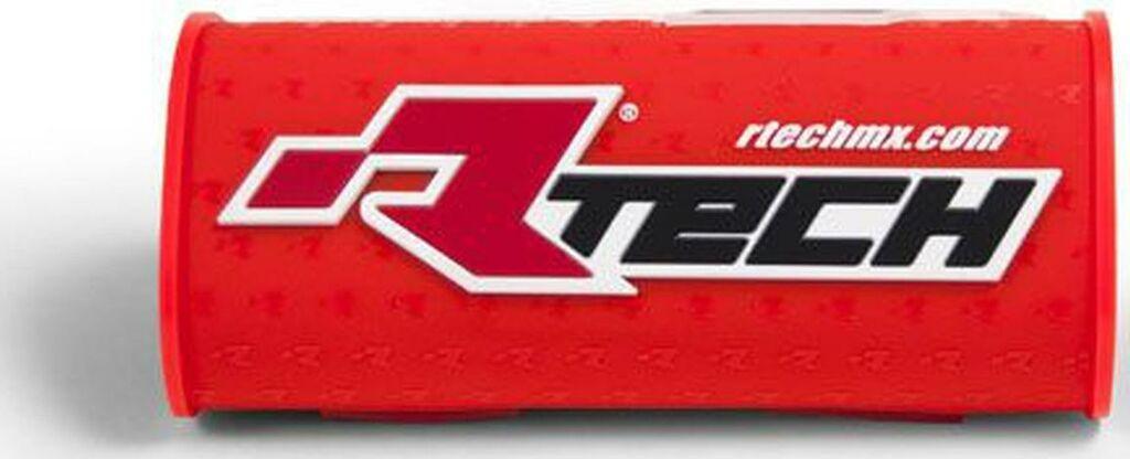 """Obrázek produktu chránič na bezhrazdová řídítka s nápisem """"Rtech"""" (pro průměr 28,6 mm), RTECH (neon oranžový) R-PCMNBAN0018"""