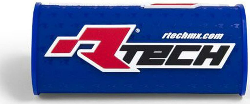 """Obrázek produktu chránič na bezhrazdová řídítka s nápisem """"Rtech"""" (pro průměr 28,6 mm), RTECH (modrý) R-PCMNBBL0018"""