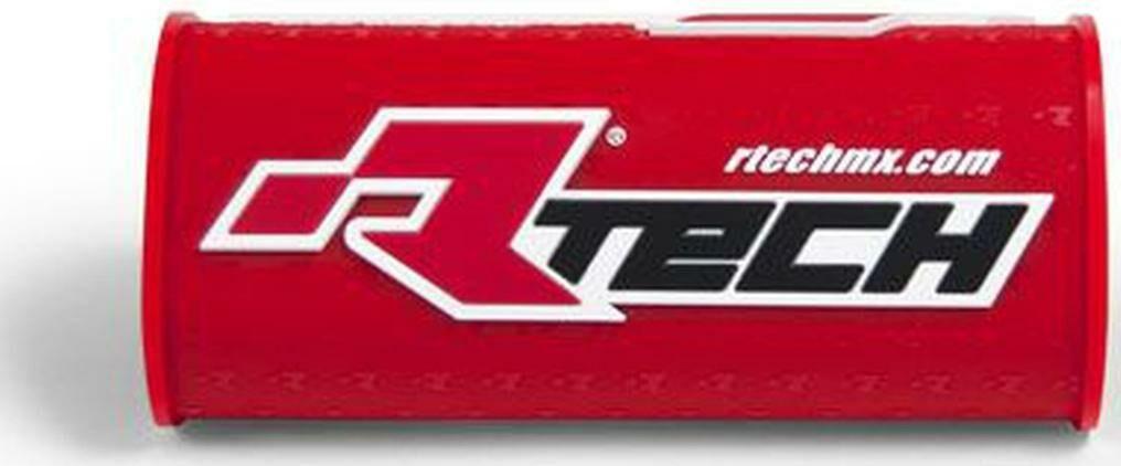 """Obrázek produktu chránič na bezhrazdová řídítka s nápisem """"Rtech"""" (pro průměr 28,6 mm), RTECH (červený) R-PCMNBRF0018"""