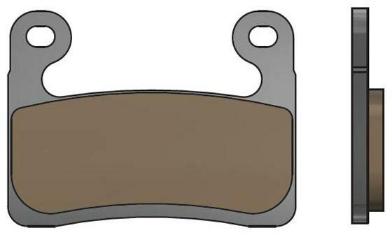 Obrázek produktu brzdové destičky, NEWFREN (směs ROAD TT PRO SINTERED) 2 ks v balení