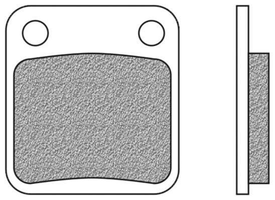 Obrázek produktu brzdové destičky přední/zadní, 2 ks v balení