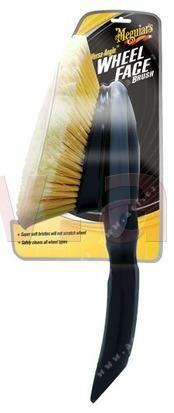 Obrázek produktu MEGUIARS Versa Angle wheel Brush - kartáč na kola s krátkým držadlem X1025