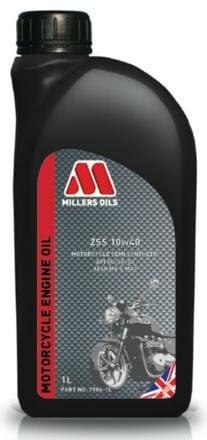 Obrázek produktu MILLERS OILS ZSS 10W40, polosyntetický olej pro 4T motory, vhodný pro aplikace s mokrou spojkou 1 l 52241