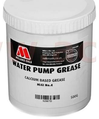 Obrázek produktu MILLERS OILS Water Pump Grease - vazelína na vápenné bázi pro vodní čerpadla 500 g 52560