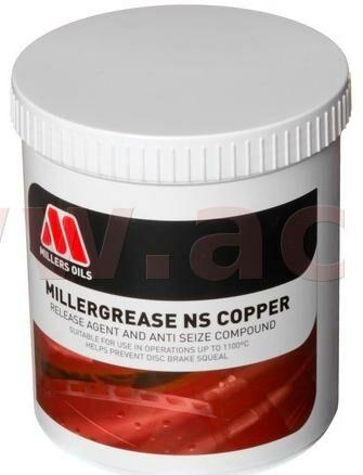 Obrázek produktu MILLERS OILS Millergrease NS Copper - vazelína s mědí 500 g 52591