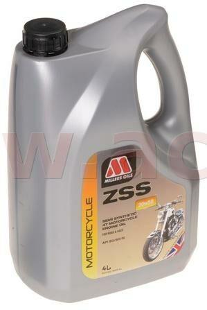 Obrázek produktu MILLERS OILS ZSS 20W50, polosyntetický olej s EP aditivy pro 4T motory 4 l 54934