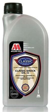 Obrázek produktu MILLERS OILS Classic Shock Oil 32 - olej tlumičů pro sportovní styl jízdy a pro karburátory 1 l 51621