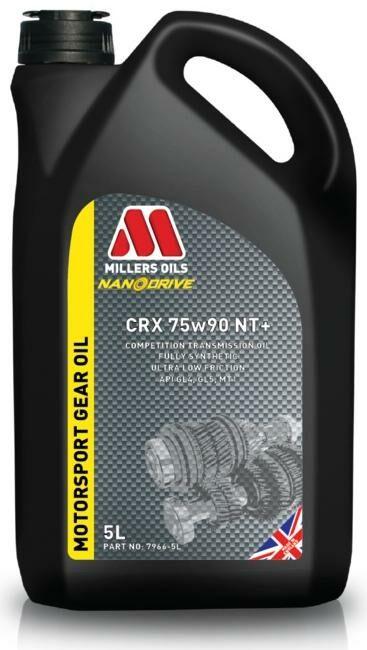 Obrázek produktu MILLERS OILS CRX 75W-90 NT+ - plně syntetický olej, pro synchronní i sekvenční převodovky 5 l 61555