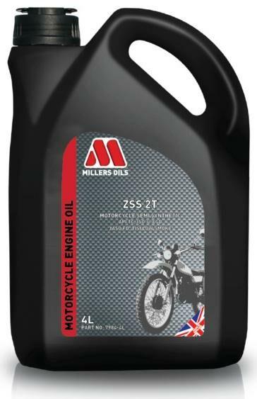 Obrázek produktu MILLERS OILS ZSS 2T, polosyntetický olej pro 2T motory SAE 20, 4 l 52005