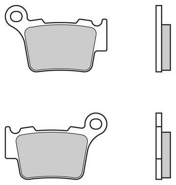 Obrázek produktu BRAKE PAD SET REAR TOYO KTM