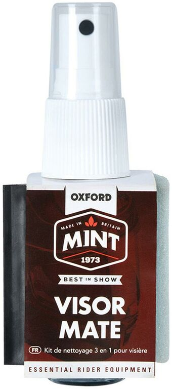 Obrázek produktu MINT univerzální čistič ve spreji s rozprašovačem, integrovanou stěrkou a houbičkou VisorMate 50 ml OC307