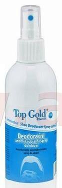 Obrázek produktu TOPGOLD deodorační antimikrobakteriální sprej do obuvi 150 ml, rozprašovač 0705