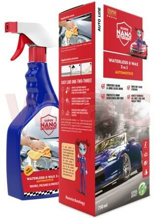 Obrázek produktu GNP Waterless & Wax 3v1 Automotive sada GNPWWAXSET