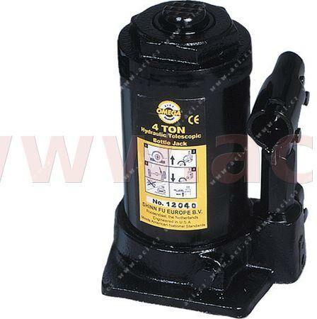 Obrázek produktu Hydraulický zvedák (panenka) 4 t (teleskopický) - zdvih 181-442 mm 1204100